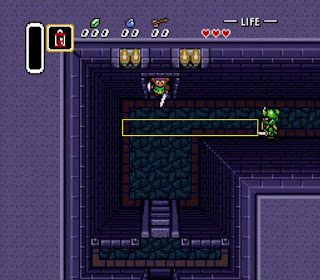 Combat breakdown: The first encounter in The Legend of Zelda: A Link to the Past